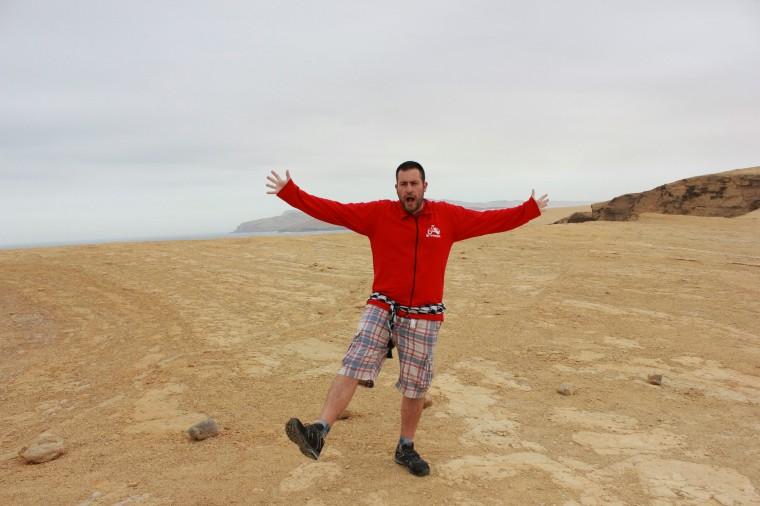 En la Reserva Nacional de Paracas