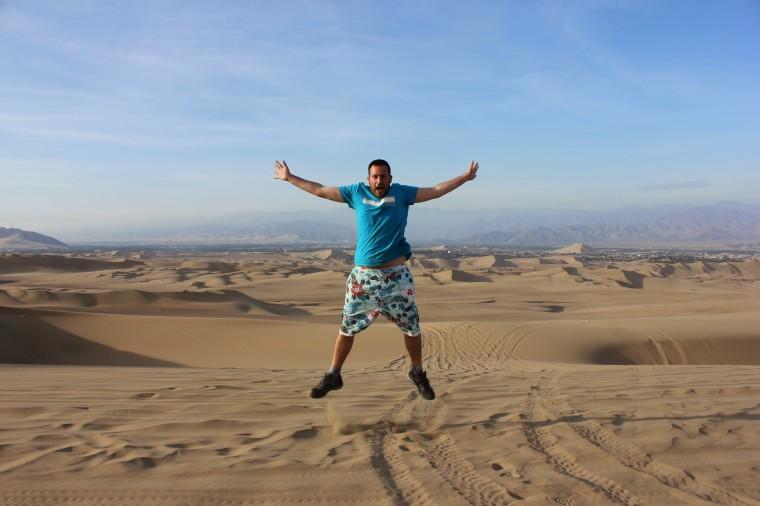 Manu en el desierto