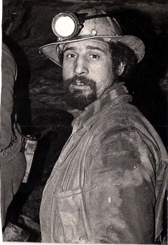 Mi padre en la mina