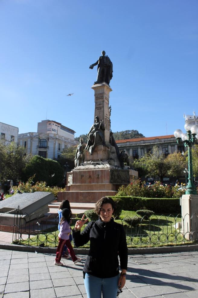 Estatua Pedro Domingo Murillo