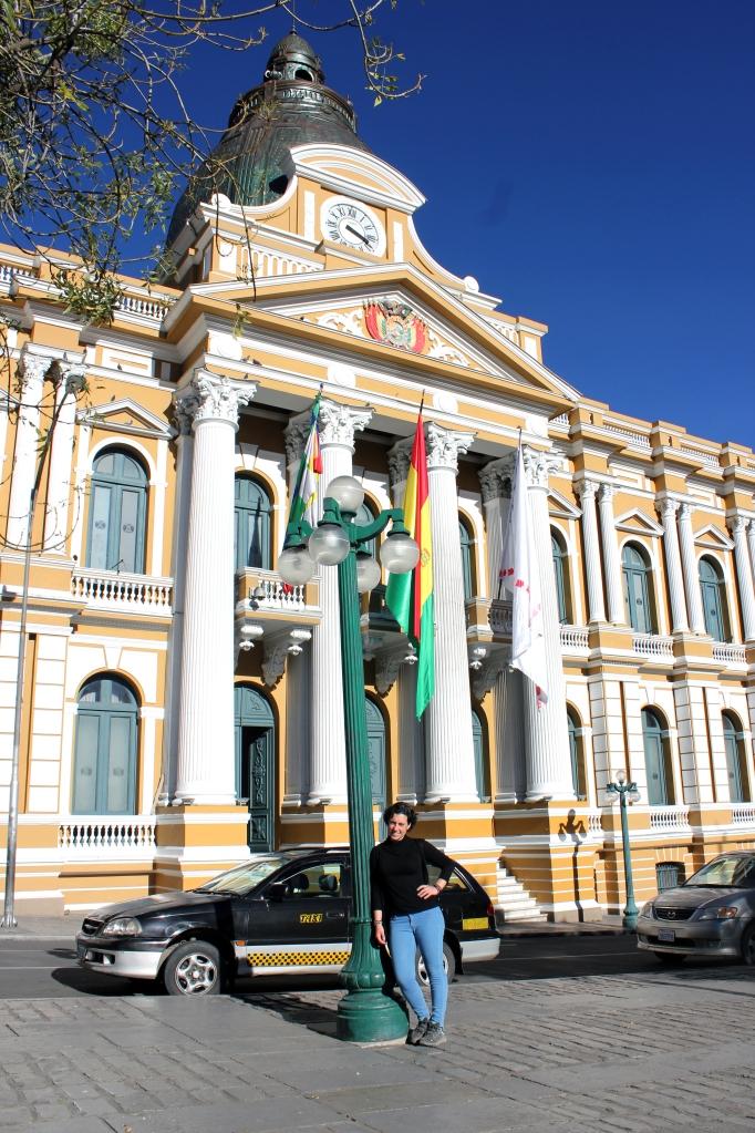 Palacio de Gobierno en Plaza Murillo