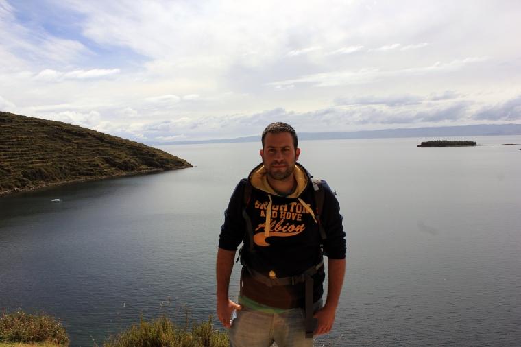 Vistas desde la Isla del Sol
