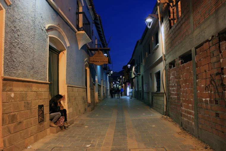 Calles coloniales de Potosí