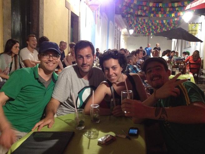 De fiesta por Salvador