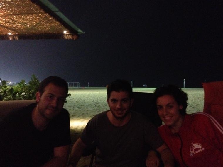 Manu, Carlitos e Isa