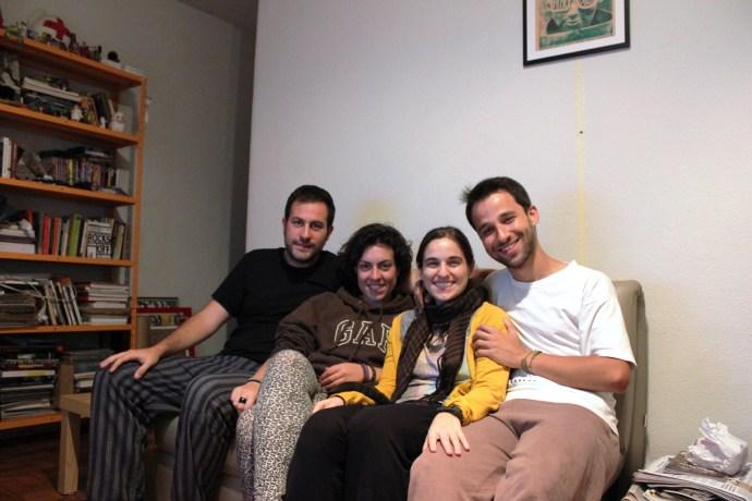 Con Gabriel y Laura