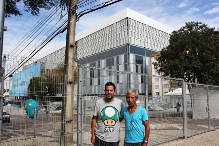 Con José en Curitiba