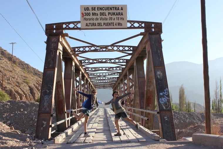 Camino al Pucará