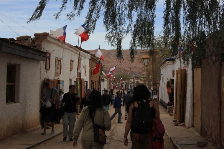 Calle Caracoles, avenida principal