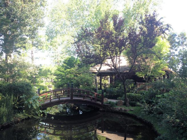 Jardín Japonés,  El Prado