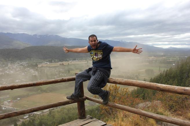 Vistas de El Bolsón desde el Cerro Amigo