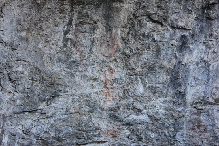 Pinturas rupestres Parque Nacional los Alerces