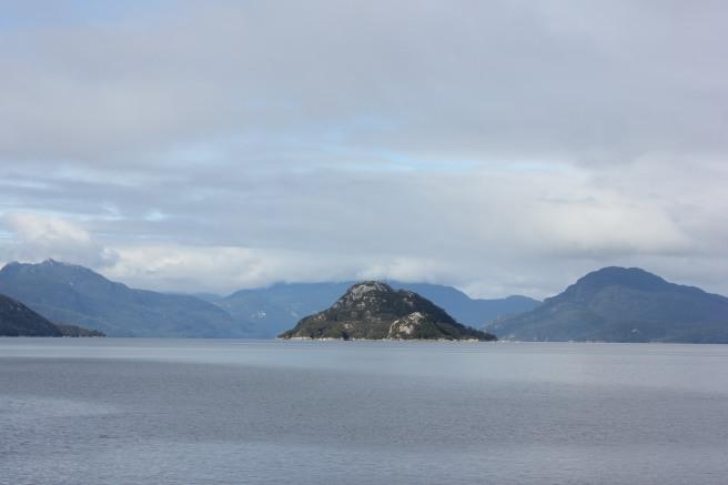 Vistas desde la barcaza