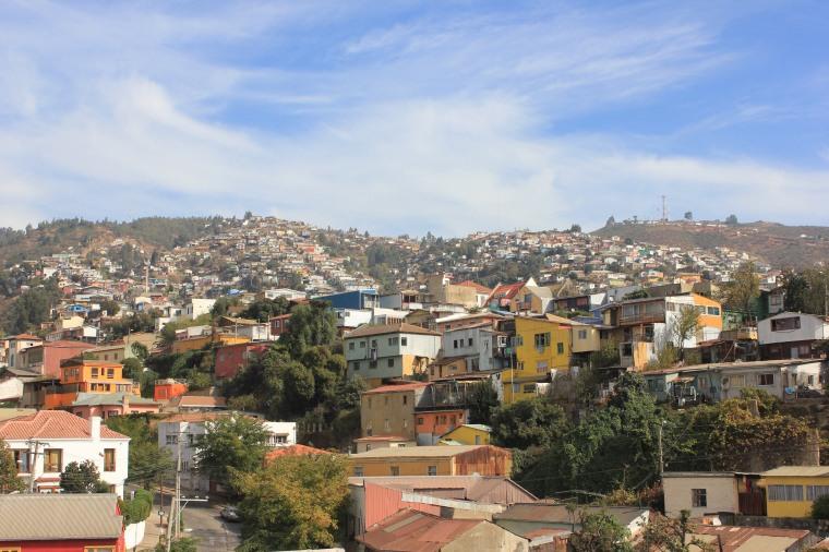 Vistas desde el cerro de Valaparaiso
