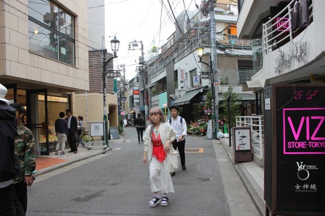 Una japonesa