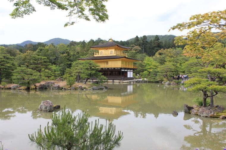 Kinkakuji Temple o Templo de oro.