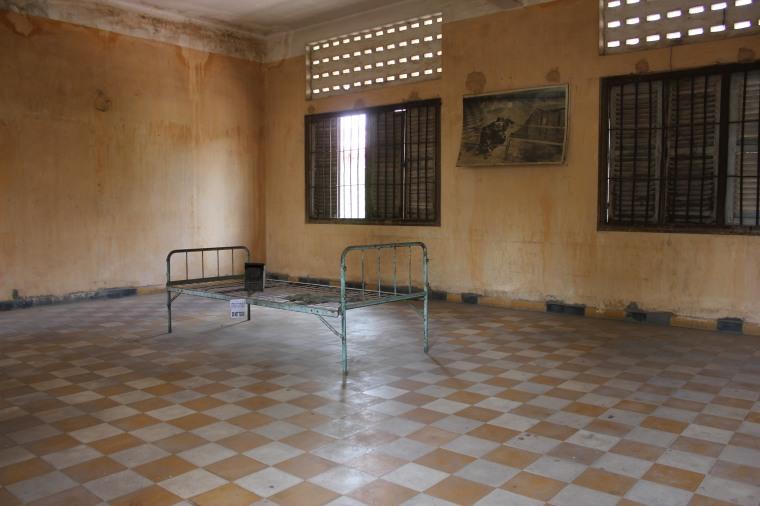 Una de las salas donde los torturaban