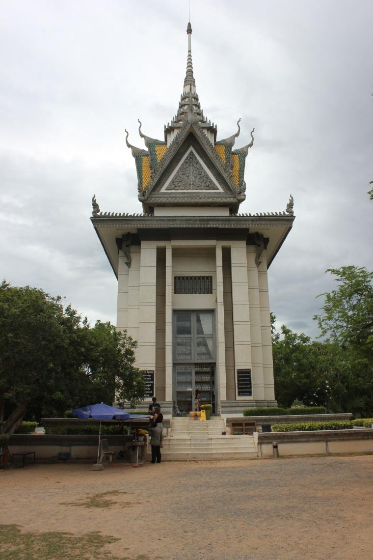 Monumento a los caídos en el Killing Field